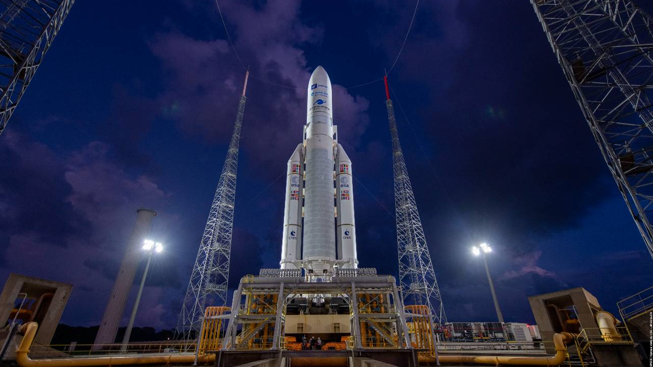 First ever re-programmable satellite blasts into space