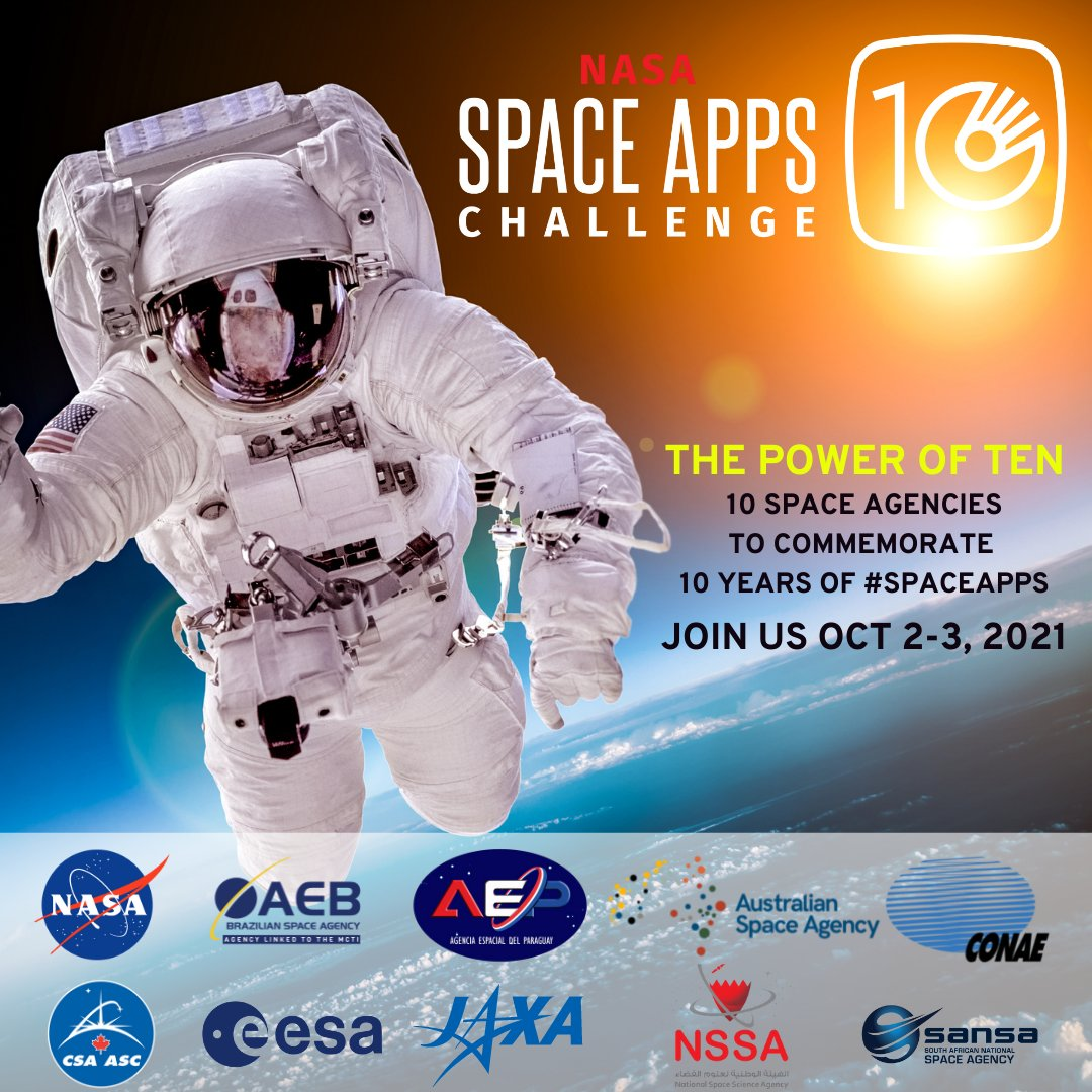 NASA partners with leading space agencies for Space Apps Challenge