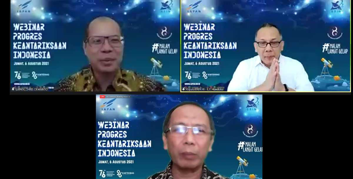 Indonesia's Space Achievements Until 2021