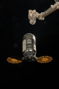 Cygnus Solar Arrays Deployed