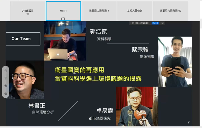 2021 Taiwan Space Hackathon's Creative Ideas Tournament Team KOH Clutches 1st Place