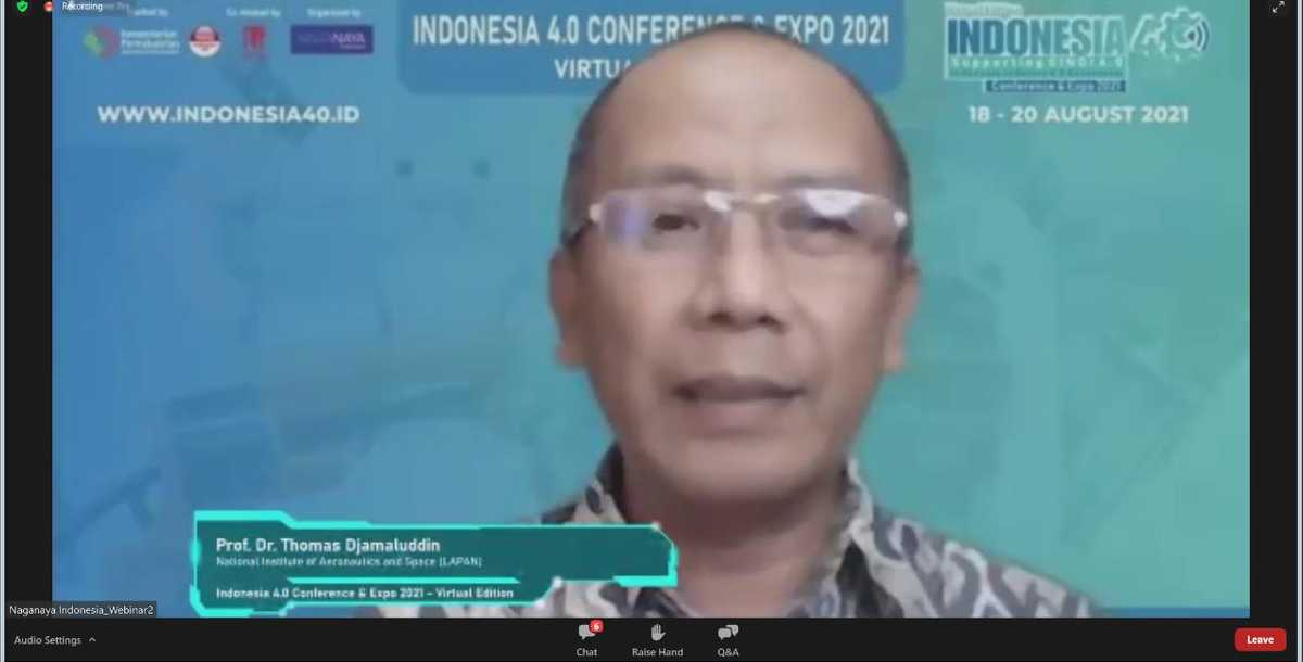 Technology 4.0 for Indonesian Aviation and Space